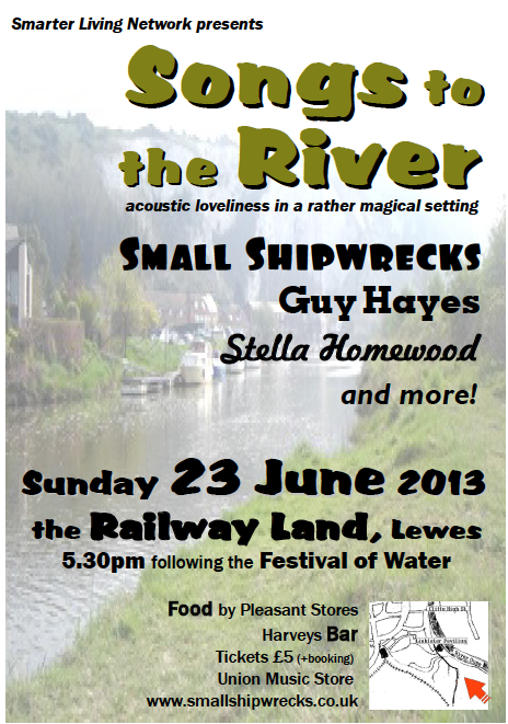 Poster for Songs to the River music event