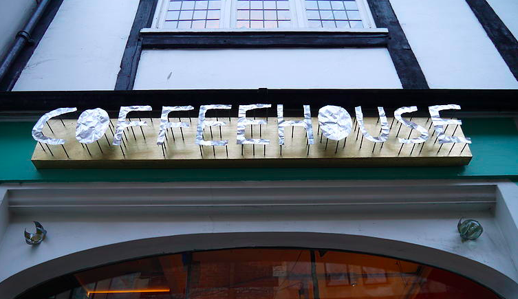 Coffeehouse front